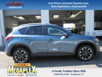 This 2016 Mazda CX-5 Grand Touring in Blue is well