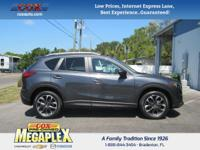 This 2016 Mazda CX-5 Grand Touring in Gray is well