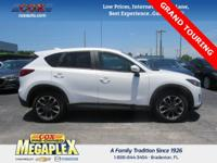 This 2016 Mazda CX-5 Grand Touring in Crystal White
