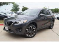 This 2016 Mazda CX-5 Grand Touring features a push