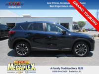 This 2016 Mazda CX-5 Grand Touring in Deep Crystal Blue