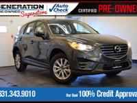 Gray 2016 Mazda CX-5 Sport AWD 6-Speed Automatic