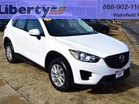 1 OWNER 2016.5 CX5 SPORT AWD...Fuel Efficient SKYACTIV