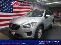 Silver 2016 Mazda CX-5 Sport AWD 6-Speed Automatic
