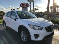 2016 Mazda CX-5 in White, *One Owner*, *New Tires*,