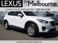 CX-5 Sport trim. CARFAX 1-Owner, LOW MILES - 9,035!