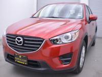 CARFAX 1-Owner, ONLY 4,975 Miles! CX-5 Sport trim. EPA