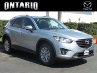 Boasts 29 Highway MPG and 24 City MPG! This Mazda CX-5