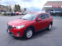 CARFAX One-Owner. 2016 Mazda CX-5 Touring Red One