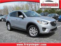 AWD! Silver Bullet! This good-looking 2016 Mazda CX-5