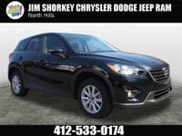 2016 Mazda CX-5 Touring CARFAX One-Owner. Clean CARFAX.