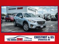 2016 Mazda CX-5 Touring in Sonic Silver Metallic with