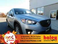 Options:  2016 Mazda Cx-5 Touring|Silver|Black W/Cloth
