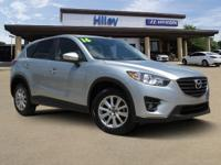 Sonic Silver Metallic used 2016 Mazda CX-5 Touring SUV,