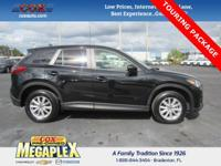 This 2016 Mazda CX-5 Touring in Black is well equipped