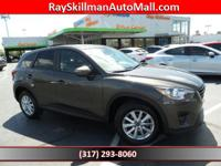 FUEL EFFICIENT 33 MPG Hwy/26 MPG City! CX-5 Touring