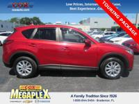 This Certified, ONE OWNER, CX-5 Touring is well
