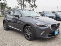 This 2016 Mazda CX-3 Grand Touring boasts features like