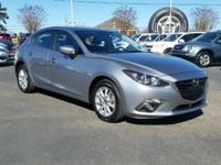 CARFAX One-Owner. Gray 2016 Mazda Mazda3 i FWD 6-Speed