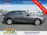 This 2016 Mazda Mazda3 i in Gray is well equipped with: