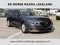 This outstanding example of a 2016 Mazda Mazda3 i Sport