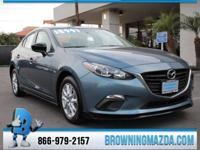 Mazda Certified. Low miles indicate the vehicle is
