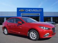 Options:  2016 Mazda Mazda3 I Sport|Miles: 31338Color: