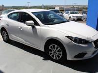Mazda3 i Sport trim. EPA 41 MPG Hwy/30 MPG City! CARFAX