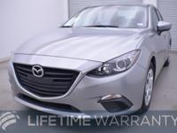 CARFAX 1-Owner. Mazda3 i Sport trim. FUEL EFFICIENT 41