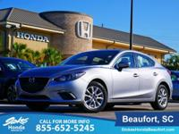 2016 Mazda Mazda3 in Silver. Adheres to the road like