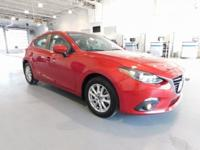 CARFAX One-Owner. Clean CARFAX. Red 2016 Mazda Mazda3 i