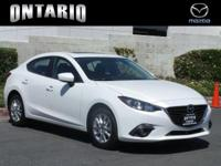 2016 MAZDA MAZDA3 I TOURING (M6) 4DR SDN  Options:
