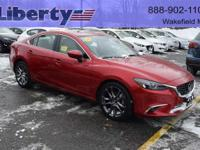 This is a great one-owner vehicle.   2016 Mazda 6 is