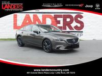 CARFAX One-Owner. Black 2016 Mazda Mazda6 i Grand