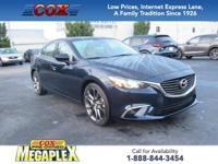 This 1 OWNER, LOW MILEAGE, 2016 Mazda6 i Grand Touring