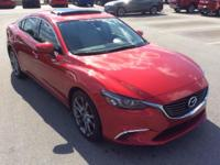 New Price! Clean CARFAX. 2016 Mazda Mazda6 i Red