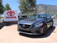 CARFAX One-Owner. Clean CARFAX. Meteor Gray 2016 Mazda
