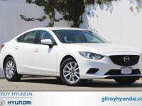 2016 Mazda Mazda6 i Sport Sport 6-Speed Automatic White