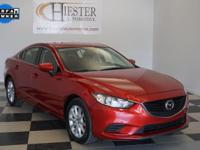 Options:  2016 Mazda Mazda6 I|Red|Priced Below Kbb Fair
