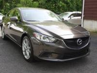 CARFAX One-Owner. Clean CARFAX. Gray 2016 Mazda Mazda6