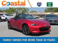 This 2016 Mazda Miata Club in Red features: RWD Clean