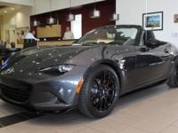 Options:  2016 Mazda Miata Club|Gray|Accident Free