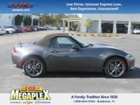 This 2016 Mazda Miata Grand Touring in Gray is well