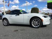 CarFax One Owner! This Mazda Mx-5 Miata is CERTIFIED!