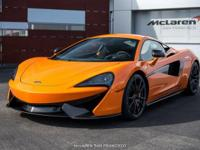 One-owner car, sold and serviced at McLaren San