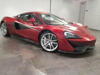 This 2017 McLaren 570S Coupe is featured in Volcano Red