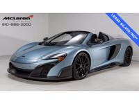 McLaren Philadelphia is pleased to offer you this