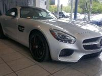 This 2016 Mercedes-Benz AMG GT S in Silver