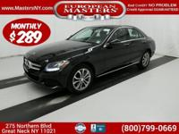 This Beautiful Black 2016 Mercedes-Benz C300 4Matic