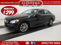 This Lovely Black 2016 Mercedes-Benz C300 4Matic Sedan